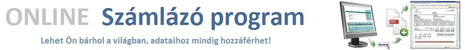 Számlázó program - Online számlázás